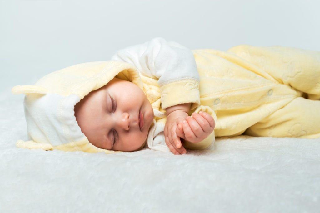 Baby - Dicker Strampler