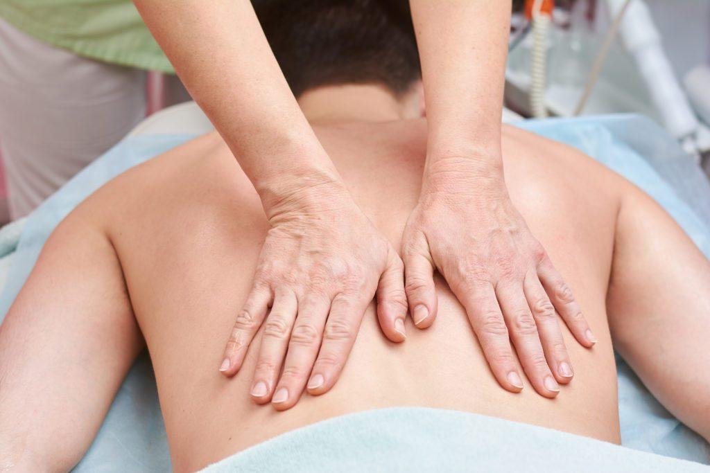 Druckpunktmassage - Verspannung