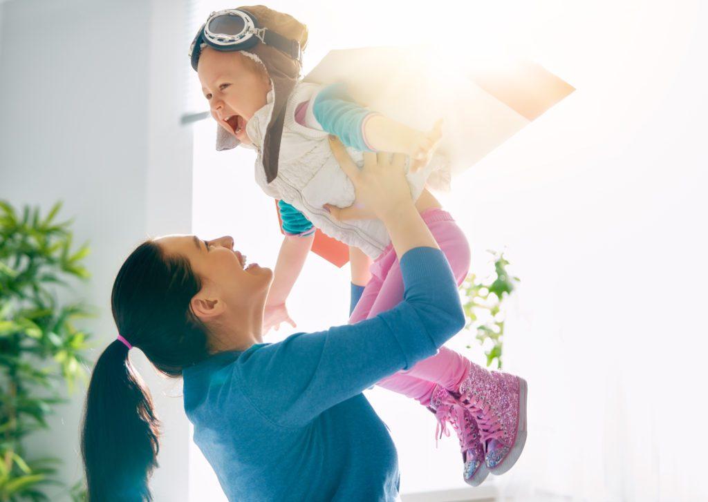 Kindermassage - Mutter und Kind - Bindung