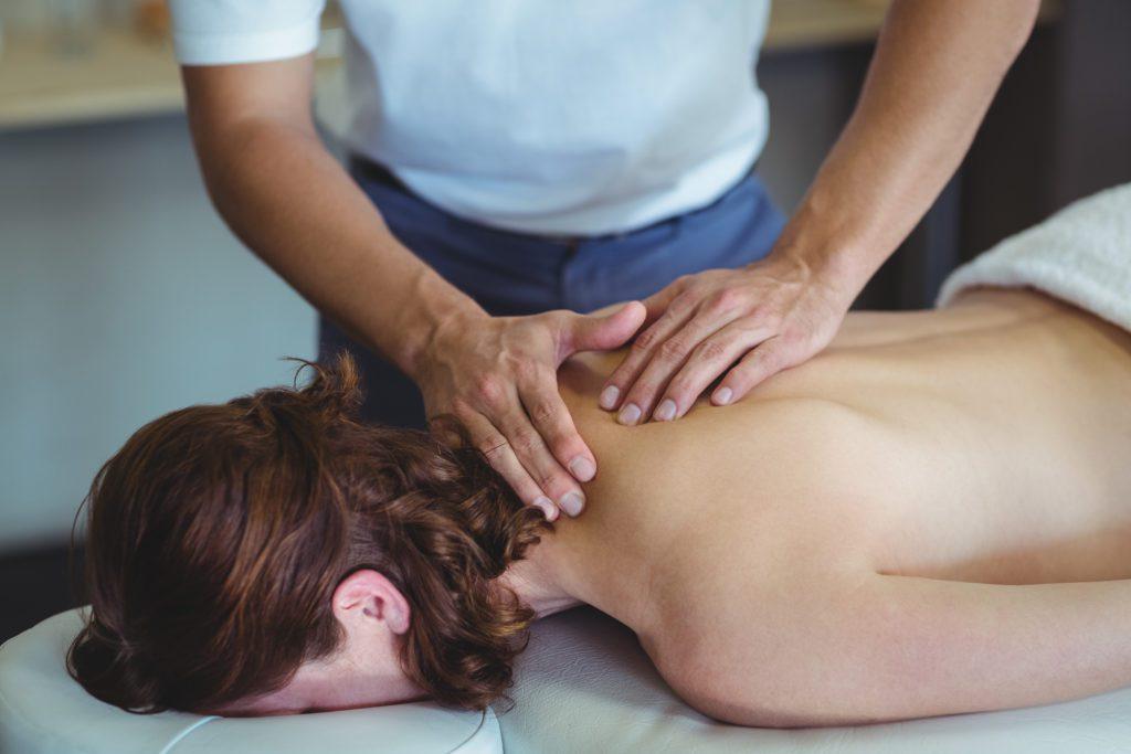 Nackenmassage - Entspannung