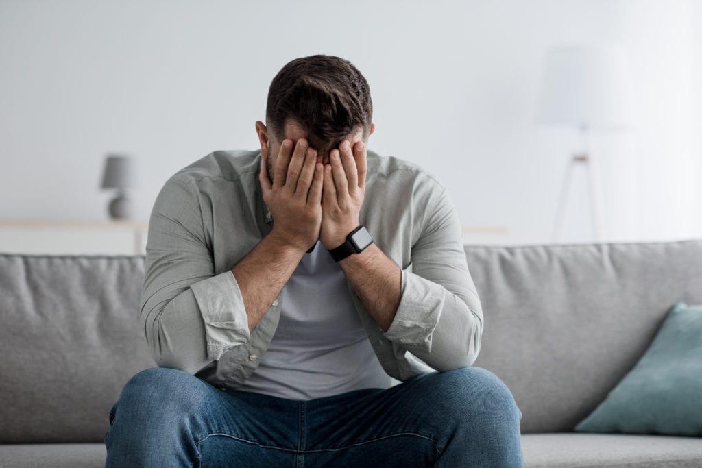 Stress - Weinen im Schlaf