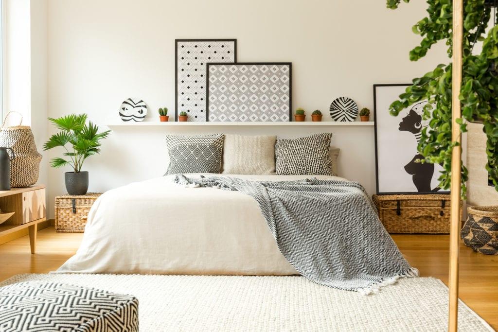 Warmes Schlafzimmer