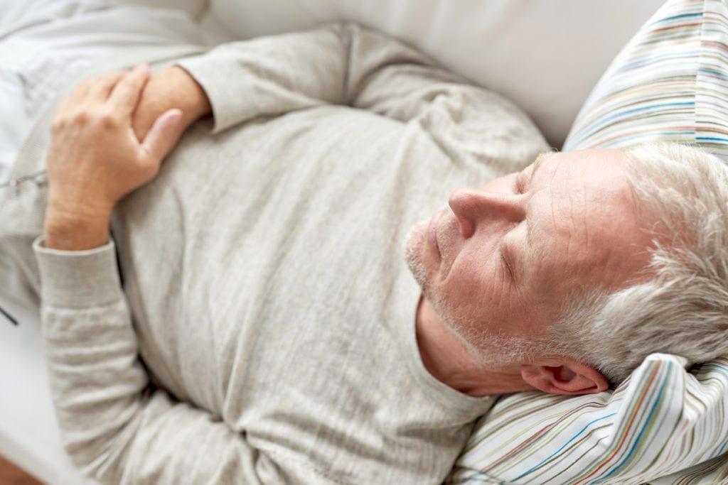 Im Schlaf weinen - Demenz