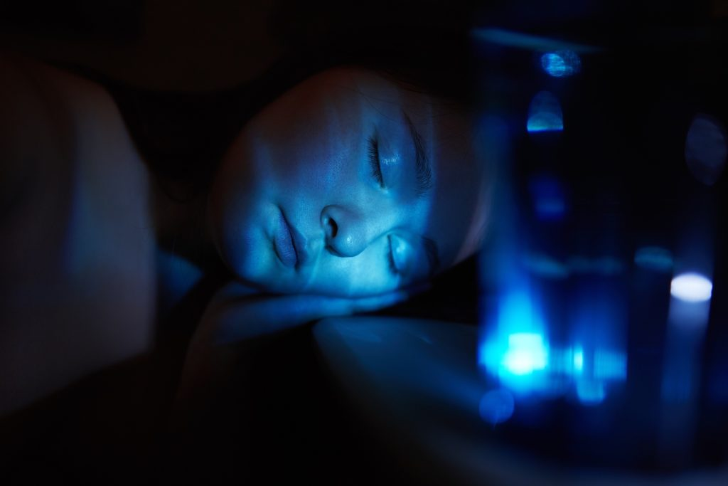 Nachtlicht - Blau Hormonhaushalt