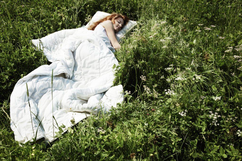 Wecker mit Naturgeräuschen - In der Natur aufwachen