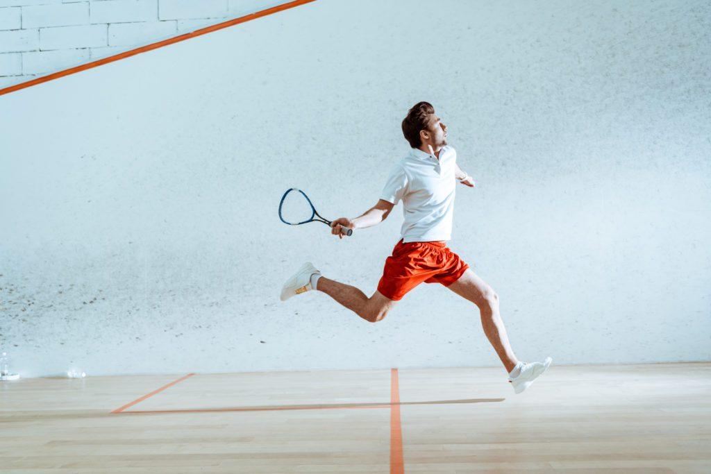 Squash - Kopfbewegungen